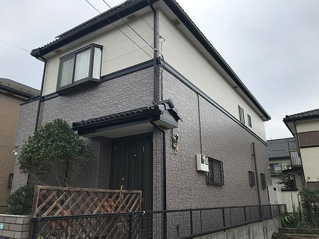 I様邸(埼玉県 草加市) 外壁塗装施工事例