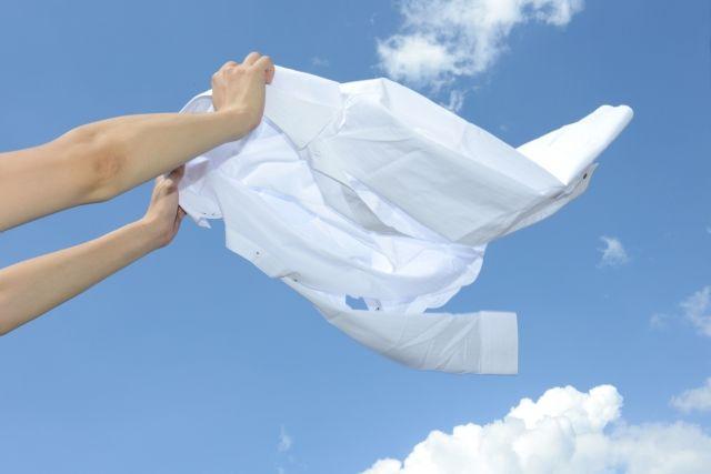 外壁塗装工事で洗濯物に塗料が付着してしまった場合