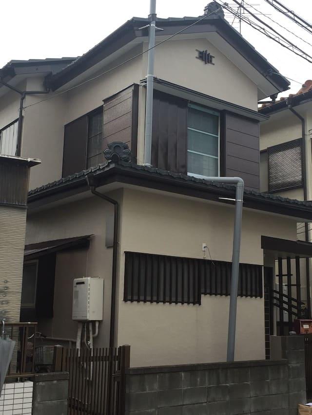 埼玉県越谷市のH様邸の外壁塗装後