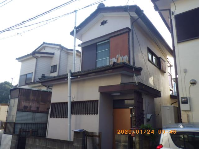 埼玉県越谷市のH様邸の外壁塗装前