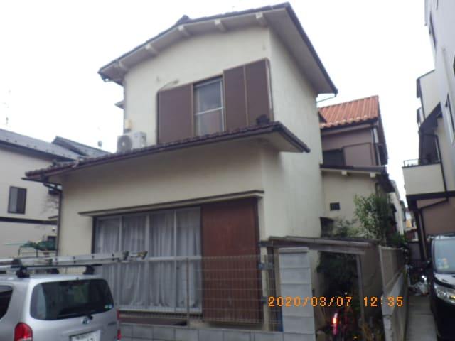埼玉県春日部市のM様邸の屋根塗装前